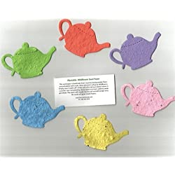Econobag of 30 Medium Plantable Teapot Seed Shapes