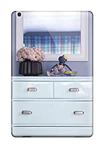 Everett L. Carrasquillo's Shop 7877956K55785504 For Ipad Mini 3 Fashion Design Eclectic Ice Blue Dresser 038 White Mirror In Blue Bedroom Case