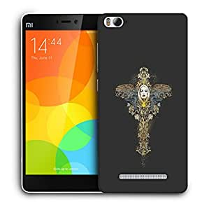 Snoogg Girl With Wings Designer Protective Back Case Cover For XIAOMI MI4I