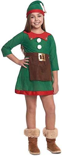 Disfraz de Elfa niña infantil para Navidad (2-4 años): Amazon.es ...