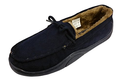 i-Smalls Ltd T06m719, Herren Flache Hausschuhe, Blau - Dunkelblau - Größe: