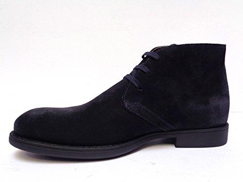 Nero Giardini - Zapatos de cordones de ante para hombre azul turquesa 44