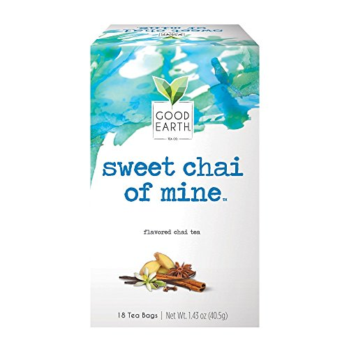 Good Earth Organic Green Tea, Tropical Rush, 18 Count Tea Bags