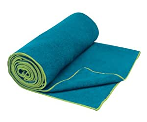 Gaiam Thirsty Yoga Mat Towel (Blue Teal)