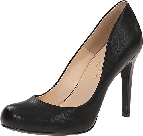Jessica Simpson Women's Calie Black 5.5 M US 1/2 Inch Dorsay Pump Shoes