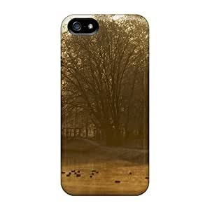 For NXfxbMS516KBPwv Ducks In The Mist Protective Case Cover Skin/iphone 5/5s Case Cover