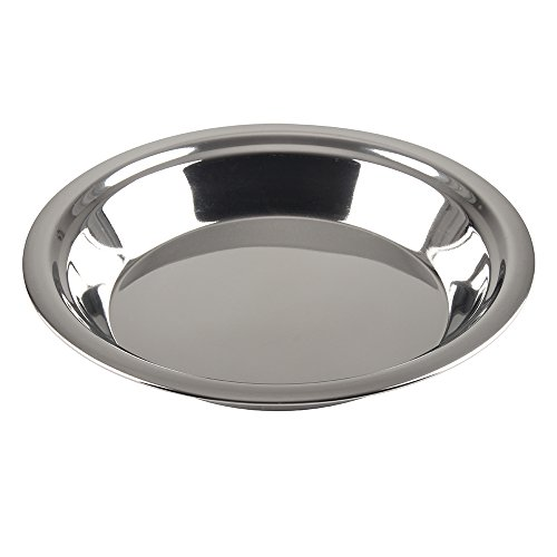 Extra Heavyweight Deep Dish - Lindy's 9-Inch Stainless Steel Pie Pan