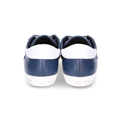 Philippe Model Sneakers Uomo CLLU1002 Pelle Blu