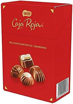 Nestlé Caja Roja, bombones de chocolate surtidos - 70 gr: NESTLE: Amazon.es: Alimentación y bebidas