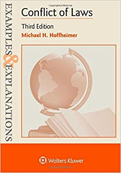 Examples & Explanations: Conflict of Laws by Michael H. Hoffheimer (2016-02-01)