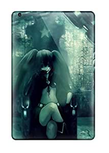 Durable Case For The Ipad Mini 3- Eco-friendly Retail Packaging(black Rock Shooter) 9908098K45990502