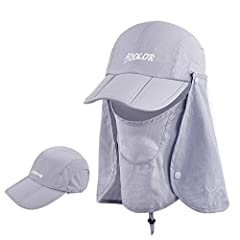Don't leave your home without packing this lightweight, portable ICOLOR sun cap in your bag. It is lightweight and in a variety of wonderful colors-there's no better sun hat to get you through all the day! Unique features of our ICOLOR UPF 50...