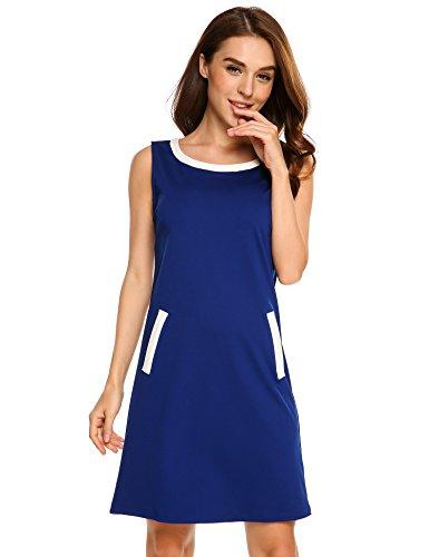 Colour Block Shift Dress - 2