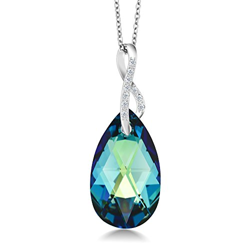 Beautiful Pendant Created Swarovski Crystals product image