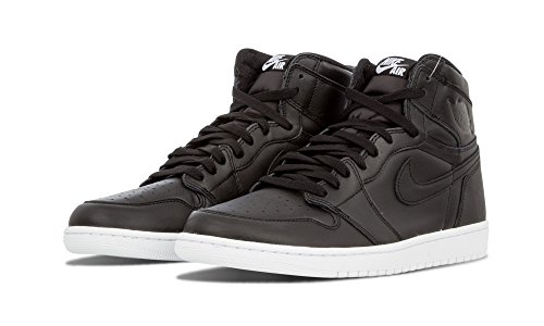 Nike Jordan Retro 1 High Og Hombres Cyber monday Negro Blanco 555088-006 (7.5)