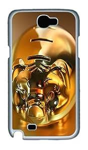 Samsung Galaxy Note II N7100 Case,Stellar Islands PC Hard Plastic Case for Samsung Galaxy Note II N7100 Whtie