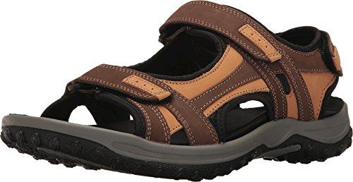 - Drew Shoe Men's Warren Sandals,Brown,14 6E