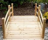 Garden Bridge Wood - 6 Ft, Unfinished
