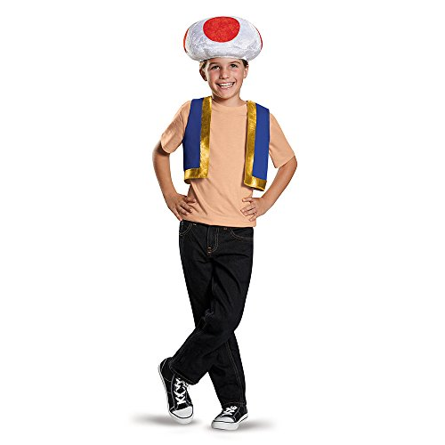 Toadstool Costume Mario (Toad Child Costume Kit)