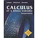 Calculus of a Single Variable, Larson, Ron, 0618149430