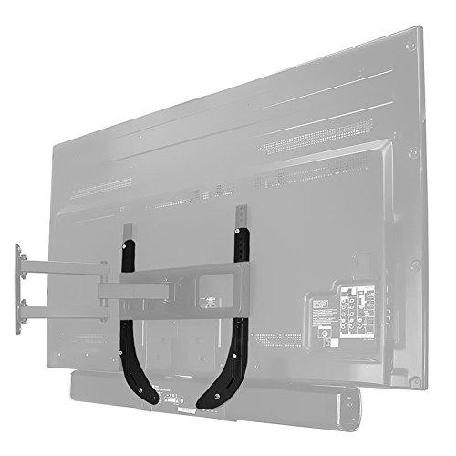 TradeMount Supporto con Casse acustiche per TV e Monitor Nero Massima Portata 15 kg per Samsung 40 UE40C8790