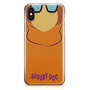 Loud Universe Scooby Doo Velma iPhone X Case Scooby Doo Cartoon iPhone X Cover with 3d Wrap around Edges