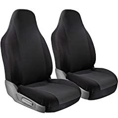 Protect Your Automobile in Style with Motorup America Seat Covers and Car Accessories with a Custom Looking Fit.       INCLUDED HIGH BACK BUCKET SEATS:High Back Bucket is an Integrated Option which fits most Bucket Seats Regardless if...