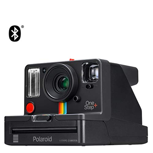 Polaroid Originals OneStep+ Black (9010), Bluetooth Connected Instant Film Camera from Polaroid Originals