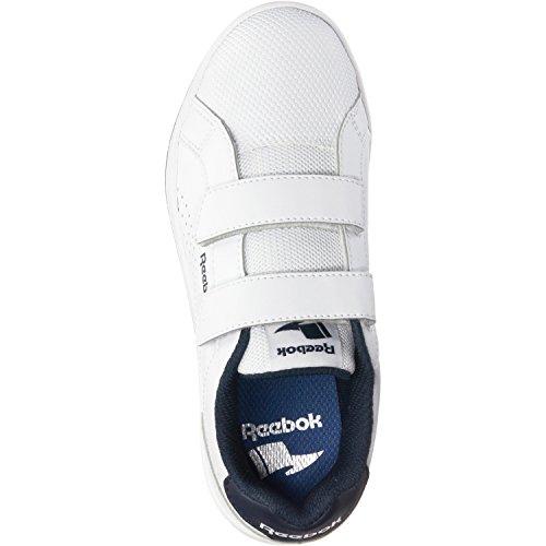 Reebok Bs7939, Zapatillas de Deporte Unisex Niños Blanco (White / Collegiate Navy)