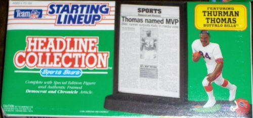 Thurman Thomas 1992 Headline Collection Starting Lineup by headline collection