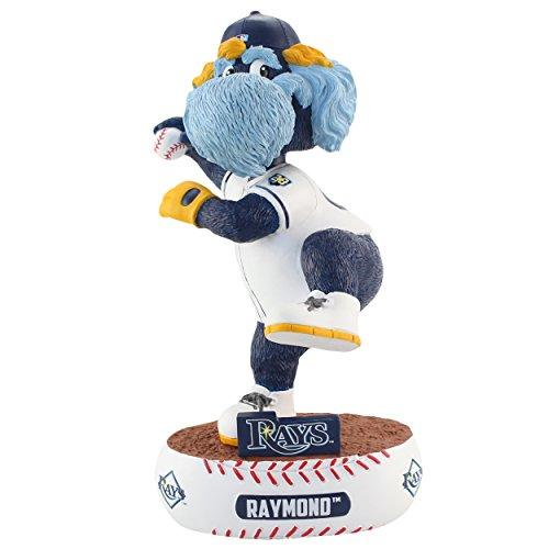 FOCO MLB Tampa Bay Rays Unisex Baller BOBBLEBALLER Bobble, Team Color, One Size
