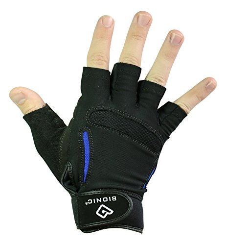 Bionic Men's SRG Fitness Gloves, Large (Bionic Mens Gloves Fitness)