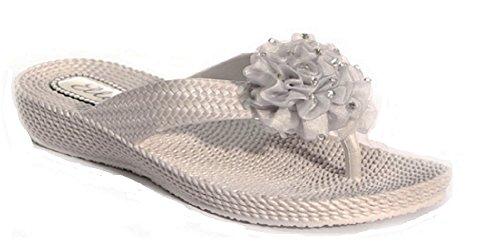 Sandalia Silver Dedo Mujer Dani De t Koo HqY5O7