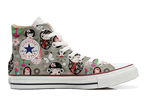 Converse All Star Customized - Zapatos Personalizados (Producto Artesano) Matrilu
