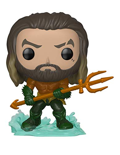 Funko 31177 Pop Heroes: Aquaman - Arthur Curry in Hero Suit Collectible Figure, ()