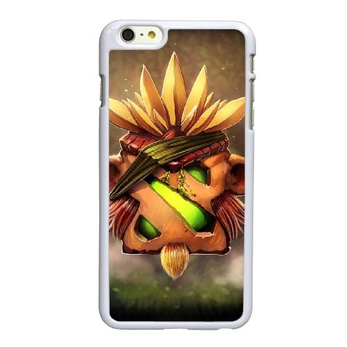 V2U76 Defense of the Ancients Dota hirsute J8N6FQ coque iPhone 6 Plus de 5,5 pouces cas de couverture de téléphone portable coque blanche WU1CEA8MV