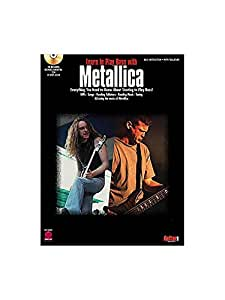 Learn To Play Bass With Metallica. Partituras, CD para Bajo