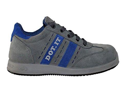 Lewer fp87S1P zapatos de seguridad de hombre