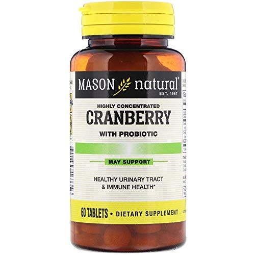 Mason Natural, Cranberry, Highly Concentrated, 6Pack 60 Capsules Each