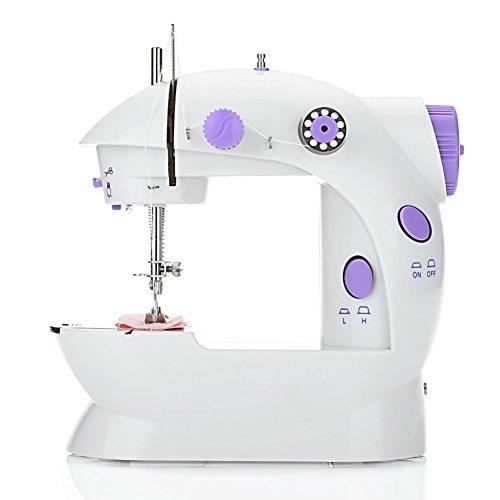 Mini Sewing Machine Double Speed Automatic Thread with Light (EU PLUG)