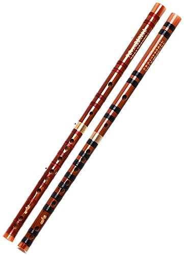 Study Level Bitter Bamboo Chinese Bamboo Flute Chinese Dizi Instrument With Accessories