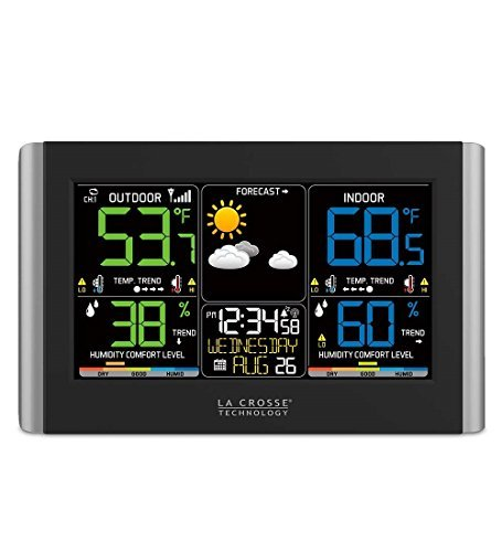 La Crosse Technology Horizontal Color Wireless Weather Station ()