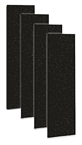 Carbon Activated Pre-Filter 4-pack for use with the GermGuardian FLT4825 HEPA Filter, AC4800 Series, Filter B
