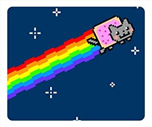 Nyan Cat oblong mouse pad by eggcase