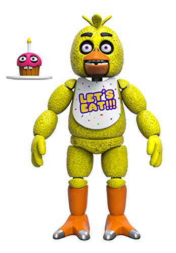 Funko Five Nights at Freddy's Articulated Chica Action Figure, 5-inch -  Funko Articulated Action Figure