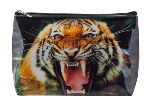 Neceser tigapaw® , bolsa de lavado, Tiger para niñ os, mujer, hombre, color naranja () Tiger para niños Apotheker Bauer & Cie.