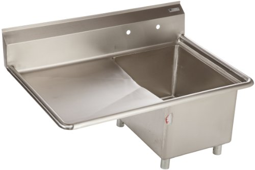John Boos E Series Stainless Steel Sink, 14