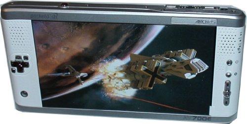 Archos AV700E 40GB Portable Media Recorder Pocketdish