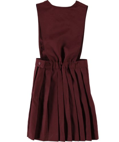 French Toast V Neck Pleated Jumper - Burgundy, 12