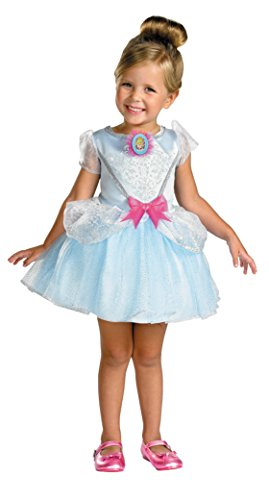 Girls Disney Princess Cinderella Kids Child Fancy Dress Party Halloween Costume, 3T-4T (Disney Princess Girls Cinderella Classic Costume)
